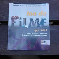 100 DE FILME 1991-2004, DOSAR DE PRESA, PALMARES, FESTIVALURI, PREZENTARI SI DIFUZARI