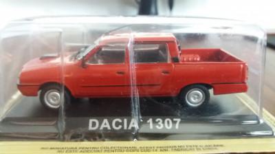 macheta dacia 1307 deagostini masini de legenda romania  - scara 1/43, noua. foto