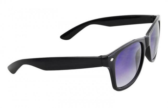 Ochelari de Soare Unisex cu Protectie UV, Culoare Negru