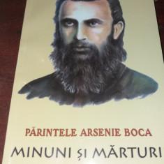PARINTELE ARSENIE BOCA MINUNI SI MARTURII