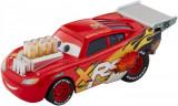 Masinuta metalica de curse Cars XRS personajul Fulger McQueen, Mattel