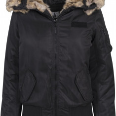 Ladies Imitation Fur Bomber Jacket