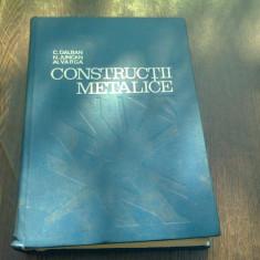 CONSTRUCTII METALICE - C. DALBAN