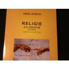 RELIGIE-FILOSOFIE-STIINTA-VIRGIL STANCIU-TEOSOFILOGIA-235-PG-
