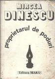 Autograf Mircea Dinescu - Proprietarul de poduri