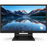 Monitor Touchscreen Philips 242B9T 23.8 inch 5 ms Black