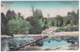 # 2363- Ro, Püspőkfürdő, Baile Episcopiei c.p. circ. 1918: Detaliu piscina