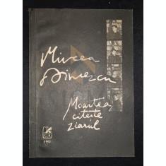 DINESCU MIRCEA - MOARTEA CITESTE ZIARUL (Poezii si Scrisori), 1990, Bucuresti