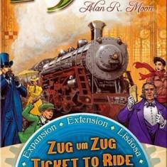 Set De Carti Ticket To Ride Usa 1910 Expansion