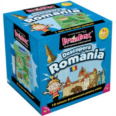 Joc de Inteligenta BrainBox Descopera Romania