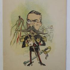 G - L . LAHOVARI , ' COMANDANT DE COTILLION ' , LITOGRAFIE de pictorul NICOLAE PETRESCU - GAINA 1871 - 1931 , 1898