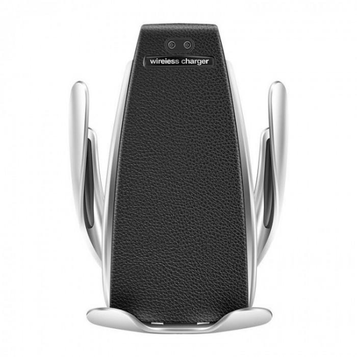 Suport Incarcator Telefon Auto Smart S5 Wireless InfraRosu