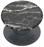 Suport stand PopSockets PopGrip Basic Black Modern Marble pentru telefoane