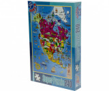D-Toys Puzzle harti 240 piese