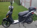 Bicicleta tip scuter electric