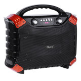 Sistem Audio Activ Portabil cu Microfon, Radio FM, Player MP3, Bluetooth, AUX, USB, Card SD, Putere 30W