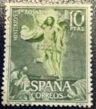 """Spania """"Învierea"""", Murillo, Stampilat"""