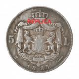Replica 5 lei 1885 - Fals