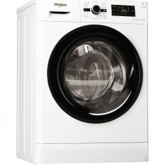 Masina de spalat rufe cu uscator Whirlpool FreshCare+ FWDG86148B EU, 1400 RPM, Spalare 8 kg, Uscare 6 kg, Clasa A, Motor SenseInverter, 6th Sense, Dis