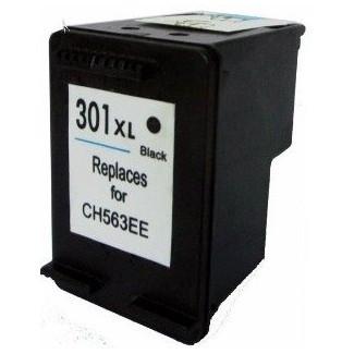 Cartus HP 301XL BK CH563EE negru compatibil foto