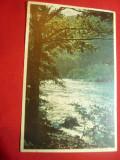 Ilustrata color Valea Oltului - Vedere anii '50