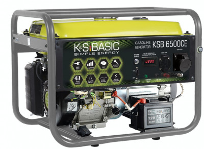 Generator curent 5.5 kW benzina, Könner & Söhnen KSB 6500CE foto