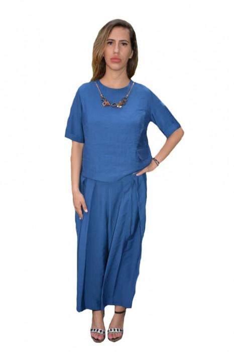 Costum din doua piese Isla,nuanta de bleumarin