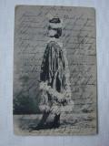 Carte postala circulata in 1902 intre Orsova si Budapesta