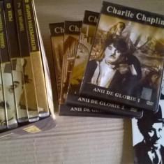 colecție dvd -uri filme Charlie Chaplin