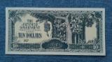 10 Dollars 1941 - 1945 Malaezia / Malaysia / Ocupatie japoneza WW2 / dolari