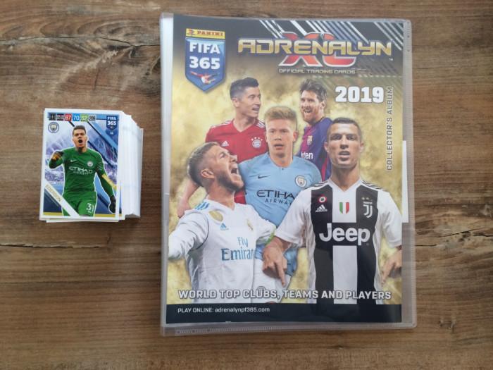 Panini FIFA 365 2019 Adrenalyn XL Set 115 carduri Team Mates diferite