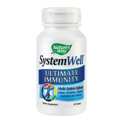 SystemWell Ultimate Immunity, 30cps, Nature's Way foto