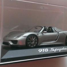 Macheta Porsche 918 Spyder - Minichamps 1/43 (Ed. Reprezentanta)