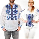 Cumpara ieftin Set Traditional Cuplu 98 Camasi traditionale cu broderie