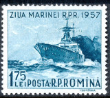 1956 LP435 serie Ziua marinei MNH