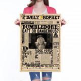 Poster / Afis Decorativ / Afis - Harry Potter Dumbledore Daft Of Dangerous