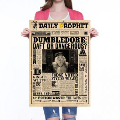 Poster / Afis Decorativ / Afis - Harry Potter Dumbledore Daft Of Dangerous