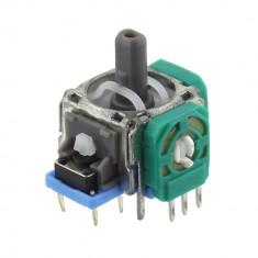 Joystick pentru 4 pozitii, verde/albastru - 650050
