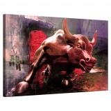 Tablou Canvas, Tablofy, Charging Bull, Printat Digital, 120 × 90 cm