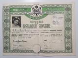 Diploma de bacalaureat comercial - perioada regalista