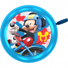 Sonerie bicicleta Mickey Seven, clopotel metalic, fixare usoara