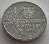 500 Lei 1999 Romania a UNC, Luciu de batere, Eclipsa Totala de Soare