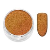 Caviar Unghii Amber Orange - 2 gr
