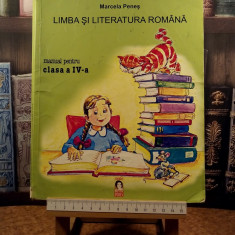 "Marcela Penes - Limba si literatura romana manual pentru clasa a IV a ""A5788"", Clasa 4"