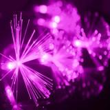 Instalatie cu fibra optica Decoratiuni Craciun Lumini 200 led 15m diverse culori