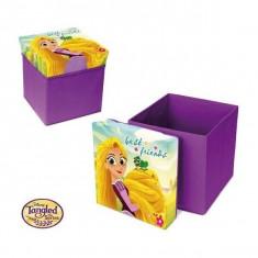 Taburet pliabil cu spatiu de depozitare Rapunzel SunCity