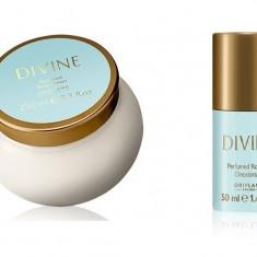 Set Divine - Crema corp, roll-on - Oriflame - NOU