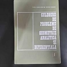 Culegere De Probleme De Geometrie Analitica Si Diferentiala V - Elena Murgulescu Nicolae Donciu ,549650
