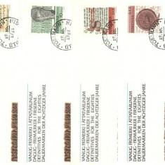 Feroe 1981 - New Definitive Issue, serie FDC