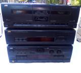 Linie/sistem/amplificator/tuner/casetofon JVC cu telecomanda